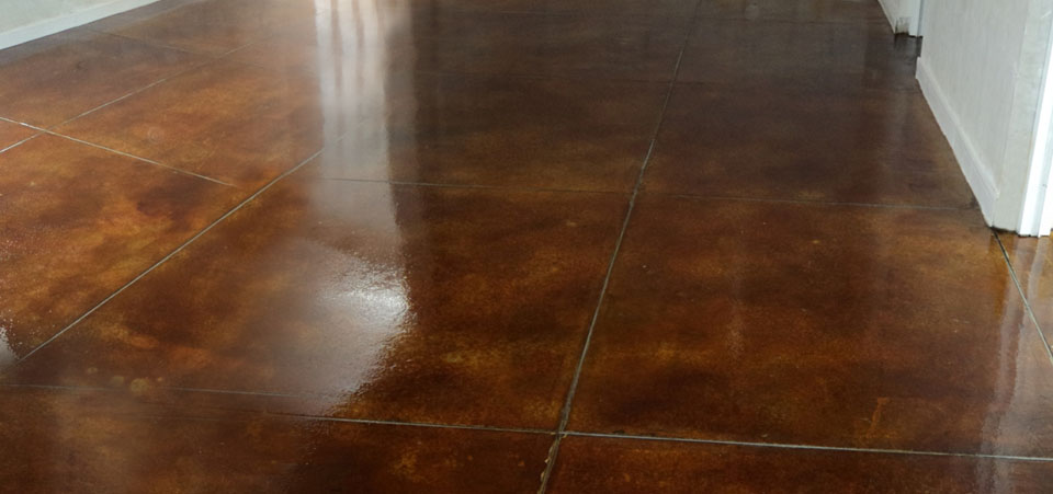Finish that gives your floor a sleek and clean