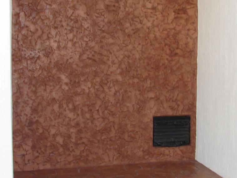 <p>Molde en muro Raft Stone<br />Color: Camel<br />Desmoldante: café- chocolate <br />Ejecución: Solidez<br />León, Gto.</p>