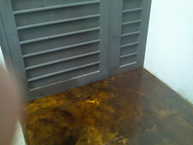 <p>Concreto Oxidado <br />Color: Habana<br />Ejecución: Solidez<br />León, Gto.</p>