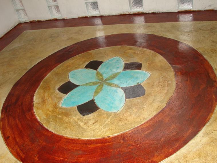 <p>Concreto Oxidado.<br />Color: Habana, Darken, Egyp y Ocean.<br />Ejecución: Solidez. <br />León, Gto.</p>